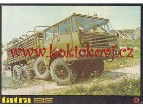 Tatra 813 - prospekt A4 - 1 LIST OBOUSTRANNĚ