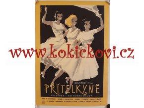 FILMOVÝ PLAKÁT PŘÍTELKYNĚ 1959 SOVĚTSKÝ FILM FORMÁT A3