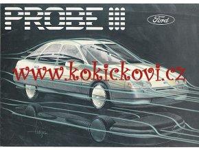Ford Probe III prospekt - předobraz Sierry ...?