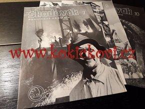 Časopis Škodovák - 3. ROČNÍK raritní podnikový měsíčník 1947 - čísla 1-10 - ŠKODA PLZEŇ