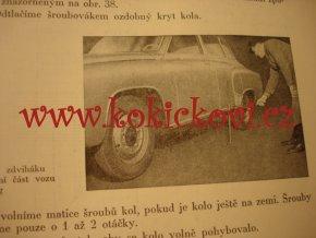 OBSLUHA A ÚDRŽBA OSOBNÍHO AUTOMOBILU WARTBURG IFA - F9 - SNTL 1956