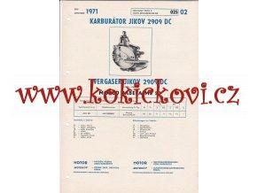 MOPED BABETA MS 50- KARBURÁTOR JIKOV - TECHNICKÝ POPIS - A4