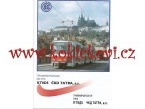 ČKD Tatra - KT8D5 - tramvaj - prospekt