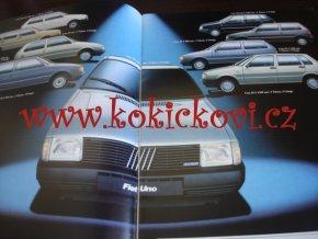 Fiat Uno 45 ES S 55 900 prospekt 1983 - německy - A4 - 24 stran