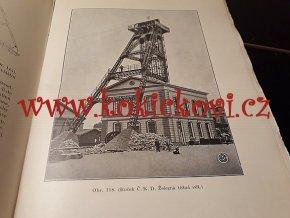 ŠACHETNÍ TĚŽNÁ ZAŘÍZENÍ - 1935 - MONOGRAFIE - DRUHÉ DOPLNĚNÉ VYDÁNÍ - těžné stroje - signální zařízení
