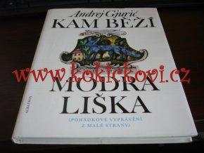 A. Gjurič - Kam běží modrá liška pohádky Malá Strana Praha