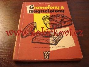 Gramofony a magnetofony - 1959 - hudební skříně