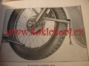 JAWA-ČZ 125/351, 150/352 - technický popis a jízdní návod - 1953-1954