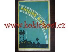 PŘEHLED ELEKTRONEK PHILIPS - REKLAMNÍ PUBLIKACE ROK 1928