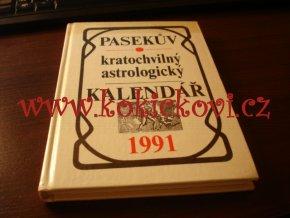 Pasekův kratochvilný astrologický kalendář 1991