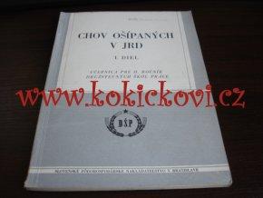 CHOV OŠÍPANÝCH V JRD - 1955 - A5 - CHOV - KRMENÍ - ROZMNOŽOVÁNÍ - SLOVENSKY
