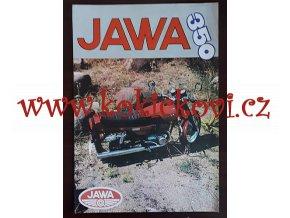JAWA 350/638 - prospekt