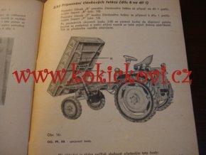 VALNÍK KA 1 - AGROTECHNA 1961 - NÁVOD K POUŽITÍ - ZEMĚDĚLSKÉ STROJE CHODOV U PRAHY
