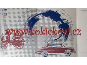 AUTO - MOTOTECHNA 1969 DIPLOM 1949-1969 - SERIGRAFIE - ILUSTRACE ŠKODA 1000