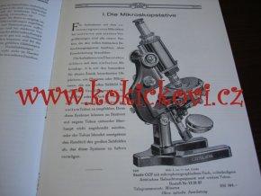 Carl Zeiss - Jena Mikrophotographische Apparate und Zubehör Warenkatalog Mikro 401 - 1926
