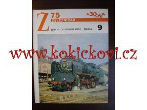 ČASOPIS ŽELEZNIČÁŘ 1975 - 1 ČÍSLO VIZ SKEN