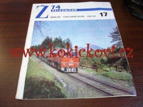 ČASOPIS ŽELEZNIČÁŘ 1974 - 1 ČÍSLO VIZ SKEN