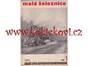 ČASOPIS ŽELEZNIČÁŘ 1973 - 1 ČÍSLO VIZ SKEN