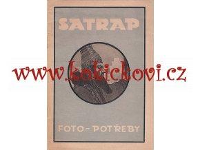 SATRAP -  katalog foto potřeb - 16 str. A5 plus prospekt 4 str.