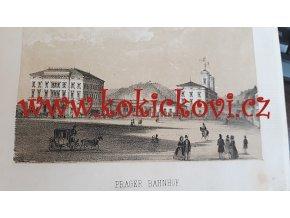 Popis a malířské zpodobení c. k. rakouské státní dráhy z Olomouce do Prahy 1845.
