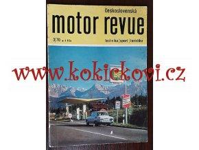 Motor Revue - 3/1970 - Škoda ČESKÁ VERZE - Škoda 100
