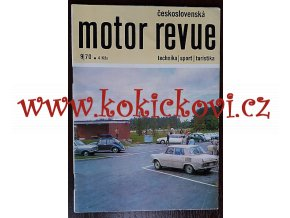 Motor Revue - 9/1970 - Škoda ČESKÁ VERZE - Škoda 100