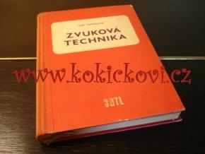 ZVUKOVÁ TECHNIKA - TRŮNEČEK - SNTL 1958 - AKUSTIKA - ZÁZNAM. ZESILOVAČE