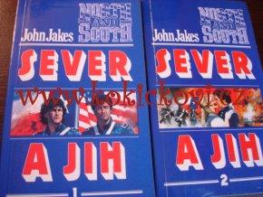 John Jakes - Sever a jih 1.,2. díl, 2 svazky (1992)