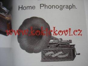 JAN HOŠŤAK: SBÍRKA FONOGRAFŮ NÁRODNÍHO TECHNICKÉHO MUZEA - MONOGRAFIE - HISTORIE PŘÍSTOJE