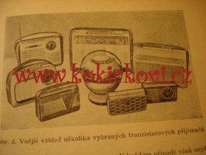 Amatérské součástky a stavba tranzistorových přijímačů, 1963