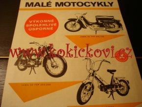 MALÉ MOTOCYKLY - JAWA 50 TYP 220.150 / 223.250 A MOPED BABETTA - MOTOTECHNA