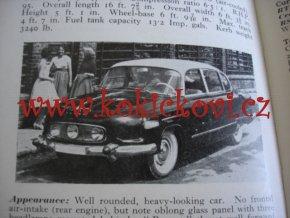 Observer's Book of Automobiles 1962 - KATALOG AUTOMOBILŮ - ANGLICKY