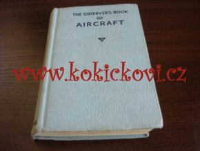 Observer's Book of AIRCRAFT 1962 - KATALOG LETADEL - ANGLICKY