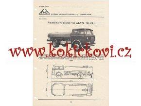 KROPICÍ VŮZ AKVM - Š 706 RTH - KATALOGOVÝ LIST A4