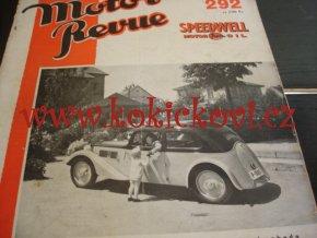 MOTOR REVUE 292/1936 - JAWA 700 NA TITULCE