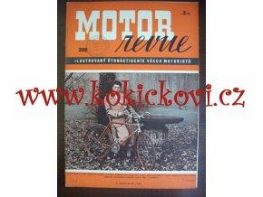 MOTOR REVUE 399/1940 - 24 stran pěkný stav