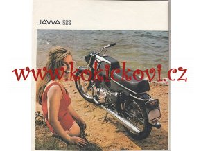 JAWA 250/623, 350/633 - Bizon (Bison) - prospekt - MOTOTECHNA