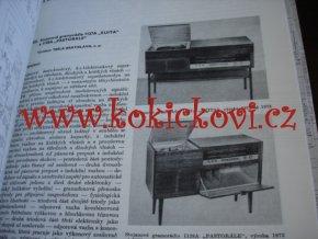 Československé rozhlasové a televizní přijímače 1970-1977 - IV.