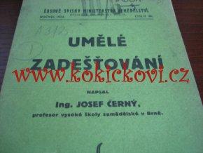 UMĚLÉ ZAVLAŽOVÁNÍ - ING. ČERNÝ 1924