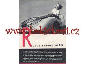 Aero - Roadster Aero 30 PS - prospekt