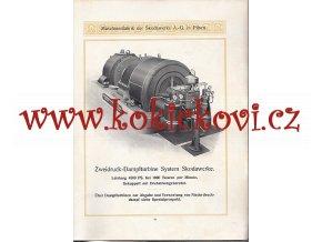 Maschinenfabrik der Skodawerke A.-G. Pilsen - Dampfturbinen