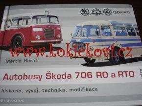 Autobusy Škoda 706 RO a RTO - Martin Harák - historie, vývoj, technika, modifikace