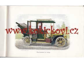 PIPE CAR MANUFACTURER CATALOGUE- Compagnie Belge de Construction Automobiles - KATALOG PIPE WAGEN 1907 - DER PIPE WAGEN