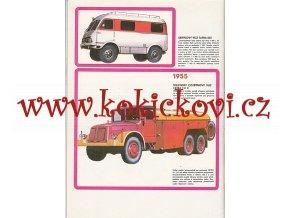 Tatra - Motokov - prospekt 197? prospekt- TATRA 805 - TATRA 57 - TATRAPLAN SPORT AJ.