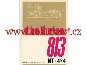 TATRA 813 NT - 4 x 4 - REKLAMNÍ PROSPEKT A4 - 4 STRANY- ŠPANĚLSKY - SPANISH - MOTOKOV