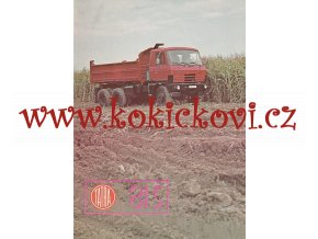 TATRA 815 REKLAMNÍ PROSPEKT A4 - 4 STRANY- ČESKÝ TEXT - MOTOKOV