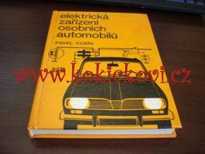 Elektrická zařízení osobních automobilů - schemata např. na Fiat Ford Renault Simca Škoda Tatra Volkswagen Wartburg