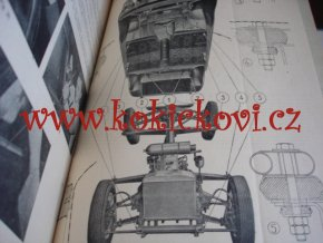 Škoda 440, 445, 450 - manuel d'atelier - dílenská příručka - servis shop manual - MOTOKOV 1958