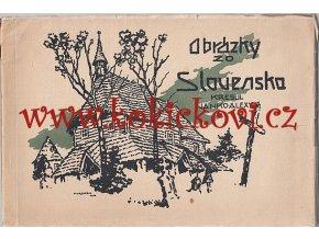 Janko Alexy - Obrázky zo Slovenska 192? TISK PRAHA SMÍCHOV NEUBERT