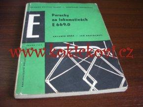 PORUCHY NA LOKOMOTIVÁCH E 699.0 ČSD LOKOMOTIVA